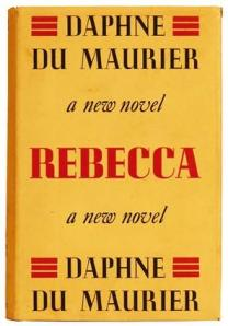 First-edition cover of Rebecca (Source: Wikipedia)