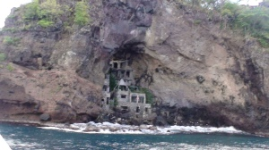Moon Hole, Bequia.  My character is headed here.