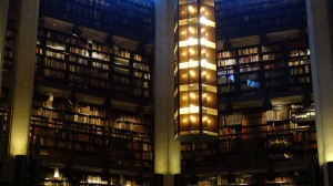 The rare book library at the University of Toronto is open to the public.