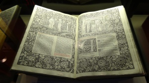 How could you not be inspired by such books as an original Chaucer?? You have to go to a library to find these gems.