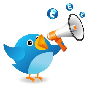 tweet loudly